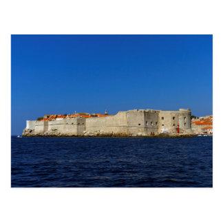 Dubrovnik old city, Croatia Postcard