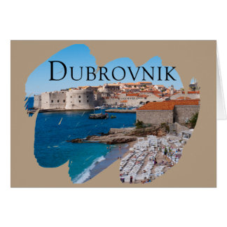 Dubrovnik with a View Card