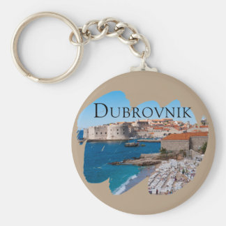 Dubrovnik with a View Key Ring