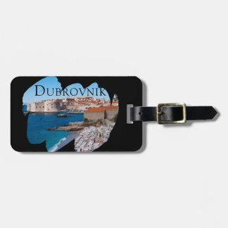 Dubrovnik with a View Luggage Tag