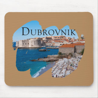 Dubrovnik with a View Mouse Pad