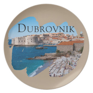 Dubrovnik with a View Plate