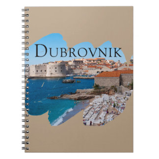Dubrovnik with a View Spiral Notebook