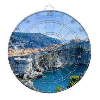 Dubrovnik's Old City Dartboard