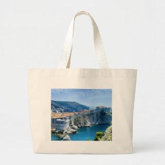 Dubrovnik's Old City Large Tote Bag