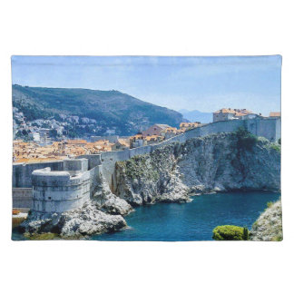 Dubrovnik's Old City Placemat