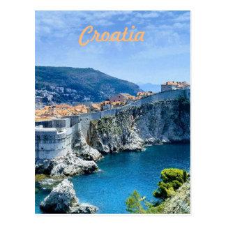 Dubrovnik's Old City Postcard