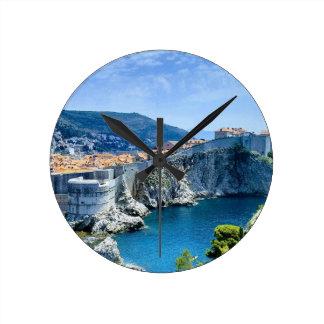 Dubrovnik's Old City Round Clock