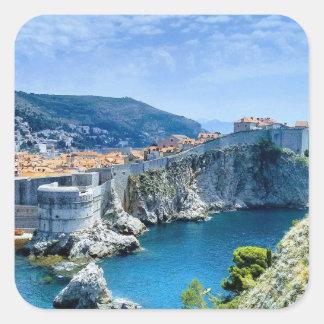 Dubrovnik's Old City Square Sticker