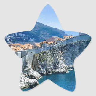 Dubrovnik's Old City Star Sticker