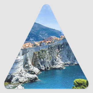 Dubrovnik's Old City Triangle Sticker