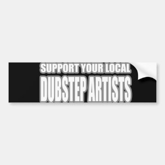 DUBSTEP ARTISTS BUMPER STICKER