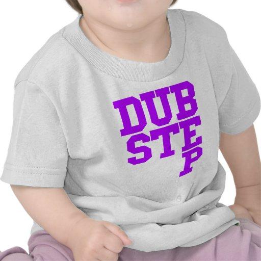 Dubstep Blockletter (Purple) Tee Shirts