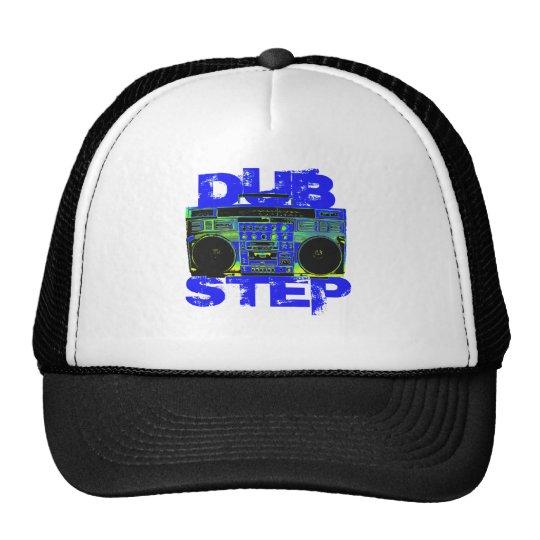 Dubstep Blue Boombox Cap