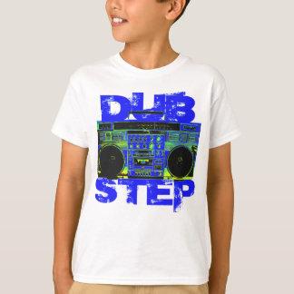 Dubstep Blue Boombox T-Shirt