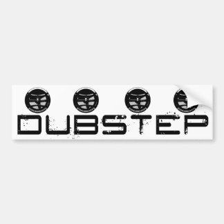 Dubstep Bumper Sticker