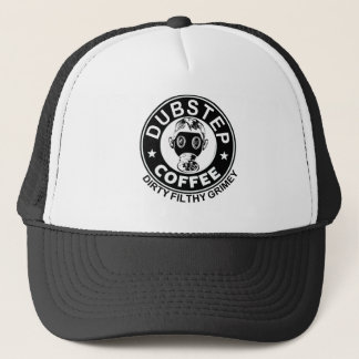 dubstep coffee trucker hat