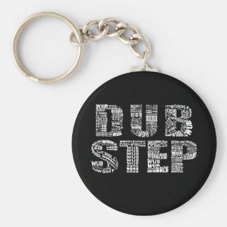 Dubstep Dark Key Ring