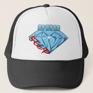 Dubstep Diamond Trucker Hat