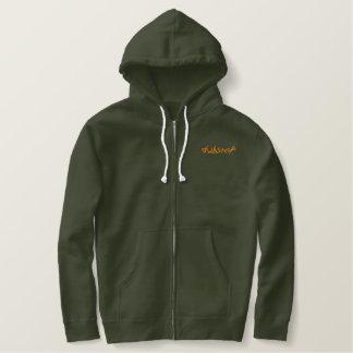 dubstep embroidered hoodie