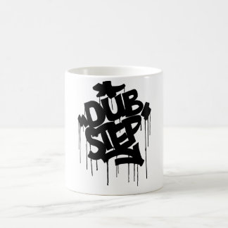 Dubstep FatCap Black Coffee Mug