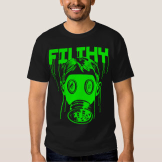 Dubstep Filthy Gas Mask Shirt