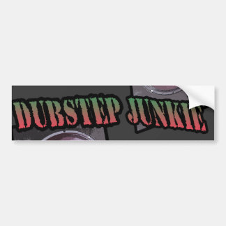 DUBSTEP JUNKIE BUMPER STICKER