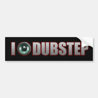 DUBSTEP MUSIC BUMPER STICKER