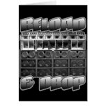DUBSTEP Rave Club Night Event Sound System card
