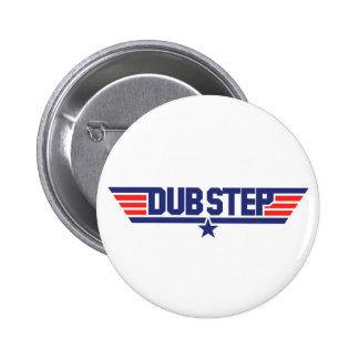 Dubstep (Wings & Star) 6 Cm Round Badge
