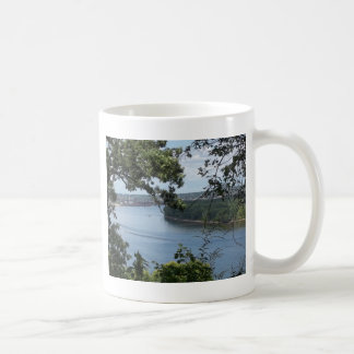 Dubuque Iowa from the Mississippi River Coffee Mug