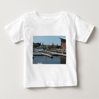 Dubuque, Iowa Ice Harbor, Mississippi River Baby T-Shirt