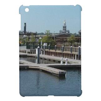 Dubuque, Iowa Ice Harbor, Mississippi River iPad Mini Covers