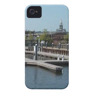 Dubuque, Iowa Ice Harbor, Mississippi River iPhone 4 Covers