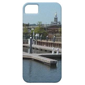 Dubuque, Iowa Ice Harbor, Mississippi River iPhone 5 Cover