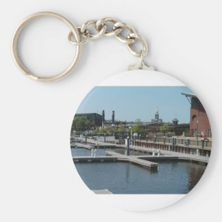 Dubuque, Iowa Ice Harbor, Mississippi River Key Ring