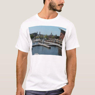 Dubuque, Iowa Ice Harbor, Mississippi River T-Shirt