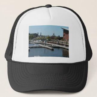 Dubuque, Iowa Ice Harbor, Mississippi River Trucker Hat