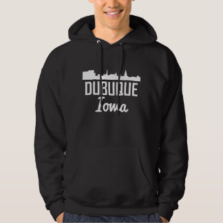 Dubuque Iowa Skyline Hoodie