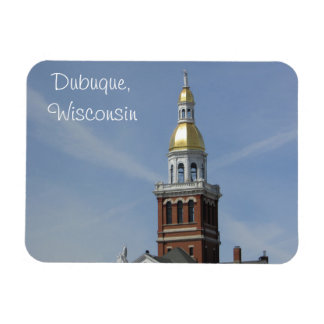 Dubuque, Wisconsin Refrigerator or Locker Magnet
