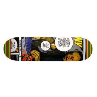 DubWise johnny fife  skateboard, HORSEBATH records Skateboard Deck