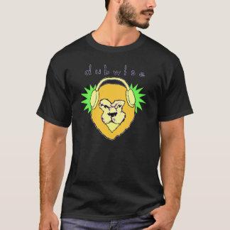 Dubwise Lion Men's T  w reverse on back T-Shirt