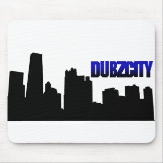 dubzCityscape Mouse Pad