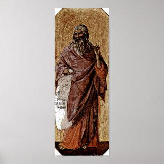 Duccio di Buoninsegna - Prophet Isaiah Poster