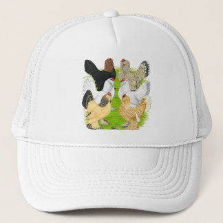 D'Uccles Six Hens Trucker Hat