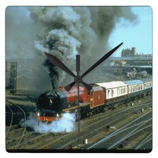 Duchess of Hamilton works the_Steam Trains Wall Clock