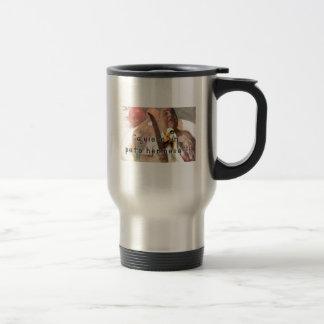 Duck and butcher travel mug
