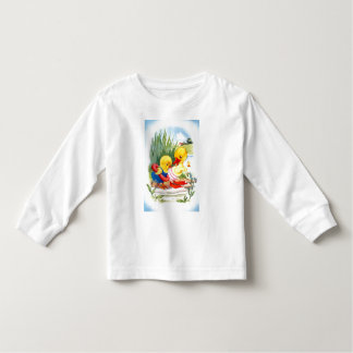 Duck and chick go swimming toddler T-Shirt