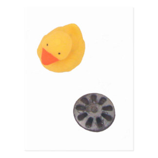 Duck and drain relationship postcards