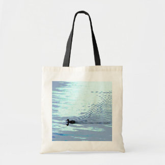 Duck and Ripples Budget Tote Bag